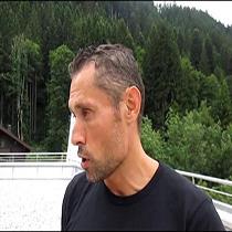 Carlos David Prieto, adestrador do campeón do mundo de triatlón Javier Gómez Noya